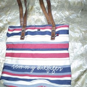 Small Red, white and blue Tommy Hilfiger Purse